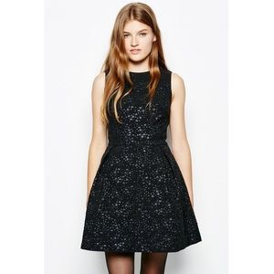 NWT Jack Wills Celestial Raised Glitter Star Dress